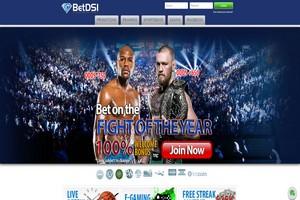 сайт букмекера BetDSI