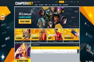 сайт букмекера Campeonbet (Кампеонбет)